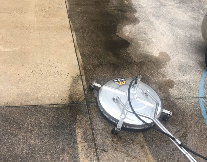ProClean Roof Cleaning company-mold and mildew removal on driveway