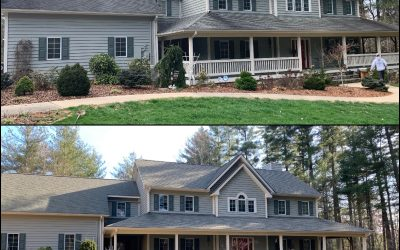 Spring Cleaning: Roofs and Driveways
