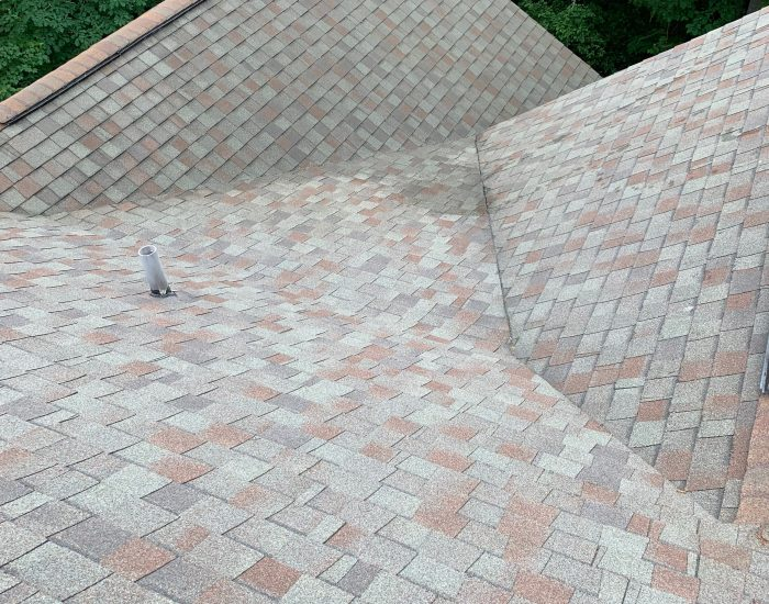 roof cleaning of mildew and stains