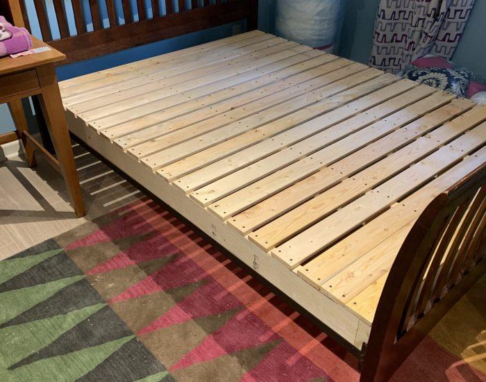 futon mattress frame