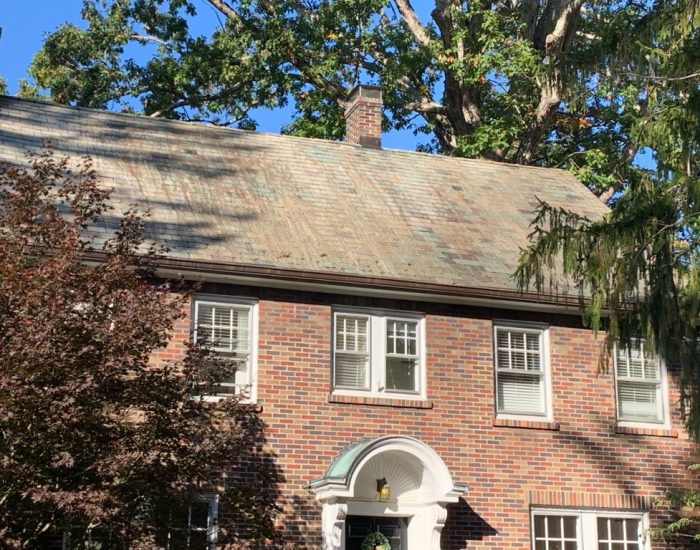 roof cleaning after-Hendersonville