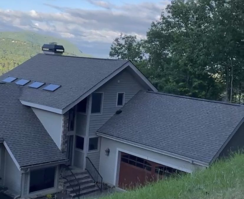 Vacation Rental Gets a Clean Roof & Deck