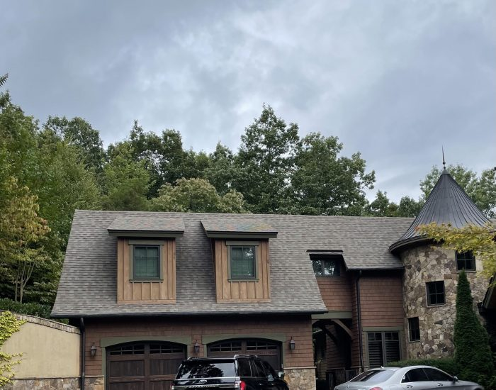 mold and mildew removal on roof